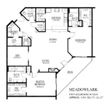 Meadowlark Floor Plan