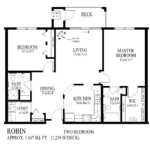 Robin Floor Plan