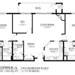 Sandpiper-A Floor Plan