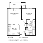 Wren Floor Plan